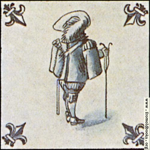 [Picture: Dutch Delft ceramic tile 23]