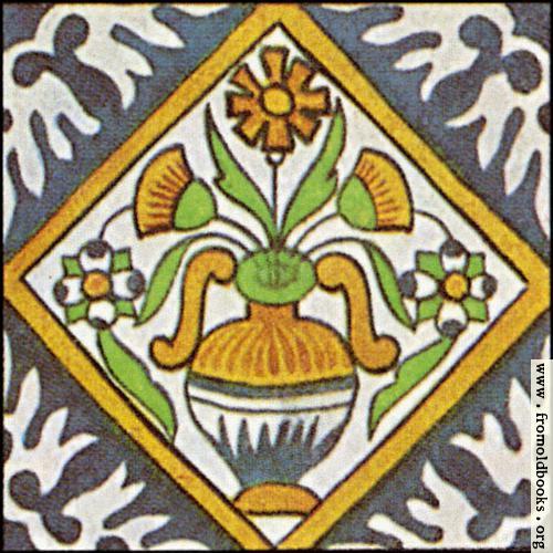 [Picture: Dutch Delft ceramic tile 24]