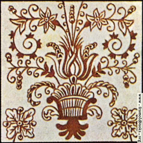 [Picture: Dutch Delft ceramic tile 25]