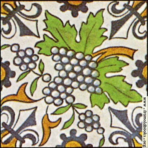 [Picture: Dutch Delft ceramic tile 28]
