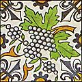 Dutch Delft ceramic tile 28