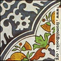 [picture: Dutch Delft ceramic tile 7]