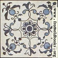 [picture: Dutch Delft ceramic tile 10]