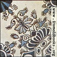 [picture: Dutch Delft ceramic tile 16]
