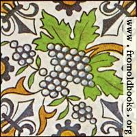 [picture: Dutch Delft ceramic tile 28]