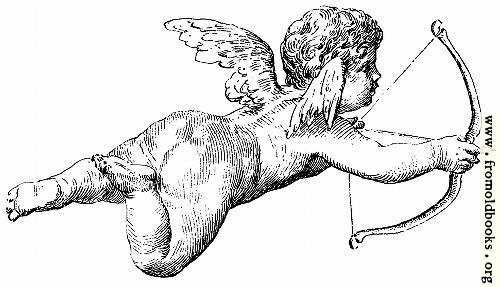 [Picture: Flying cherub firing an arrow]