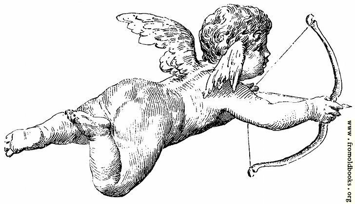 [Picture: Flying cherub firing an arrow]