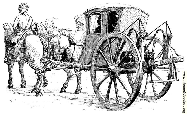 [Picture: The Stage Coach.]