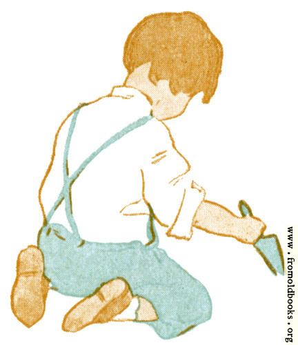 [Picture: Boy with Trowel]
