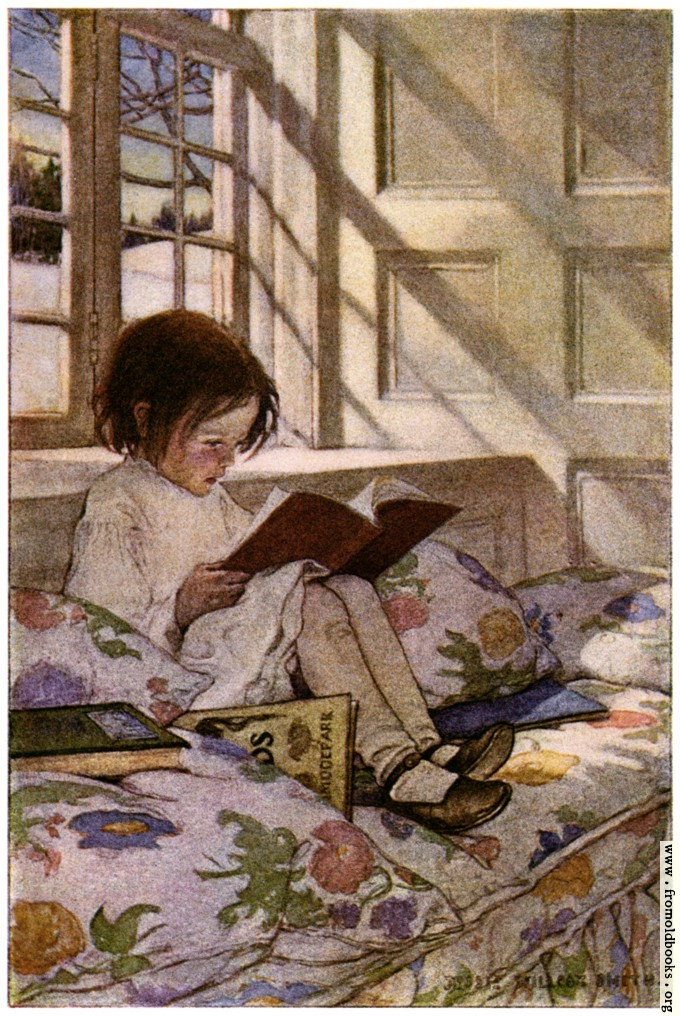 [Picture: In the story-books.]