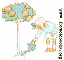 [picture: Girl Watering Tree]