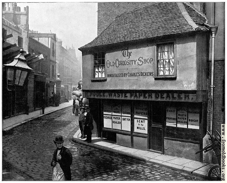 [Picture: Old Curiosity Shop, London]
