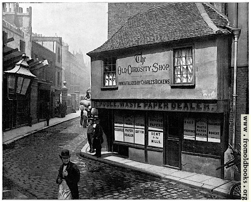 [Picture: Old Curiosity Shop, London]