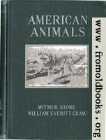 [picture: Front Cover, American Animals]
