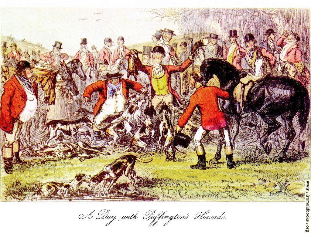 [Picture: A Day With Puffington's Hounds]
