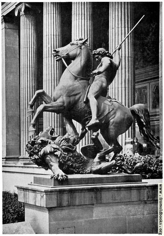 [Picture: II.—Old Museum, Berlin, Lion Slayer.]
