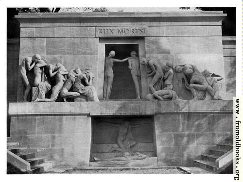 [Picture: XXXIV.—Monument in the Cemetary of Père Lachaise, Paris.]