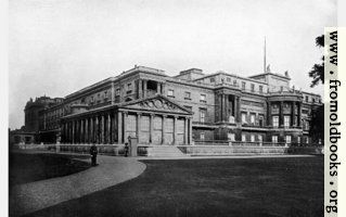 [picture: IV.---West Front of Buckingham Palace.]