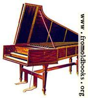 [picture: XXXII. The Empress Harpsichord.]