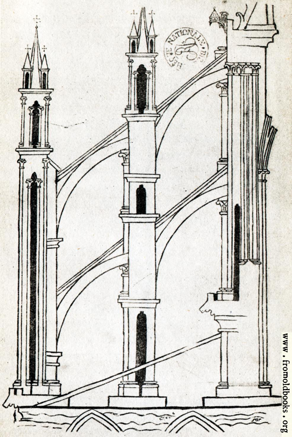 Plate XX Flying Buttresses