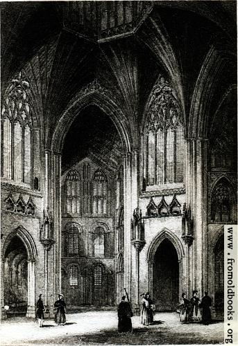 [Picture: Plate XXII. Ely Cathedral.]