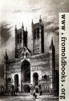 [picture: Plate XXVI: Lincoln Cathedral. West Front.]