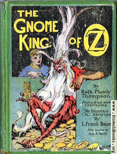 [Picture: Front Cover, The Gnome King of Oz]
