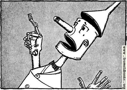 [Picture: Nick Chopper the Tin Woodman]