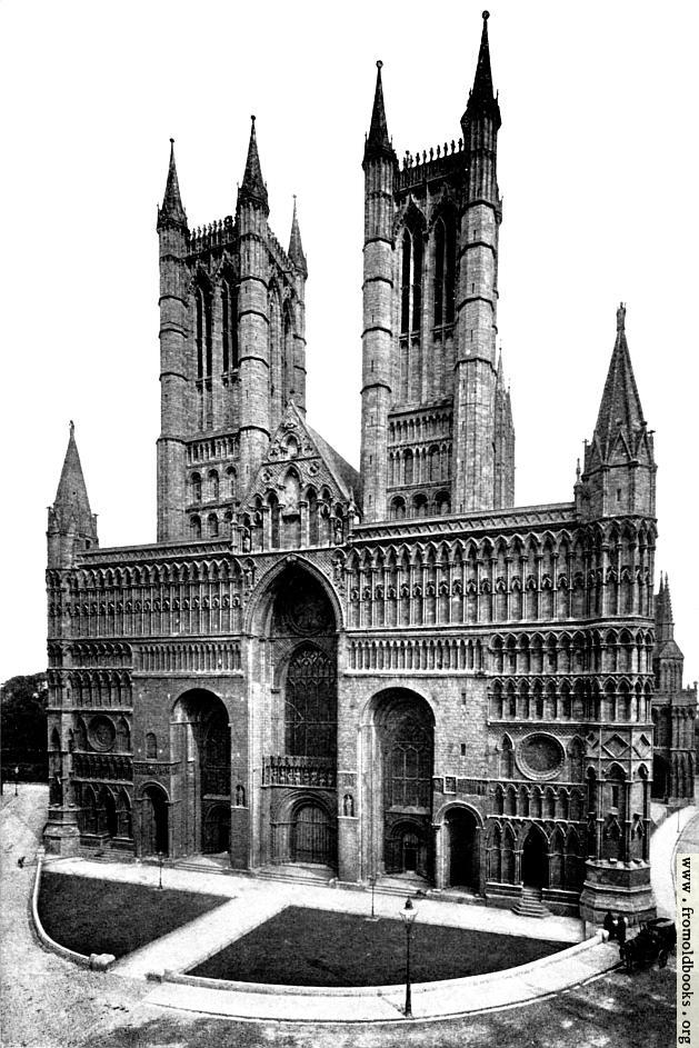 [Picture: The Cathedral of Lincoln.]