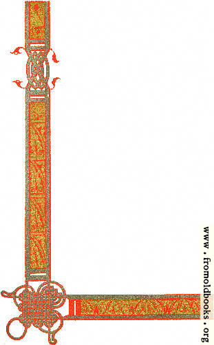 [Picture: Fig. 1 from Ninth Century Borders No. 5.]