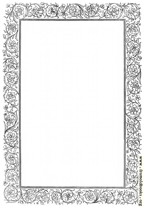 [Picture: Victorian border - floral]