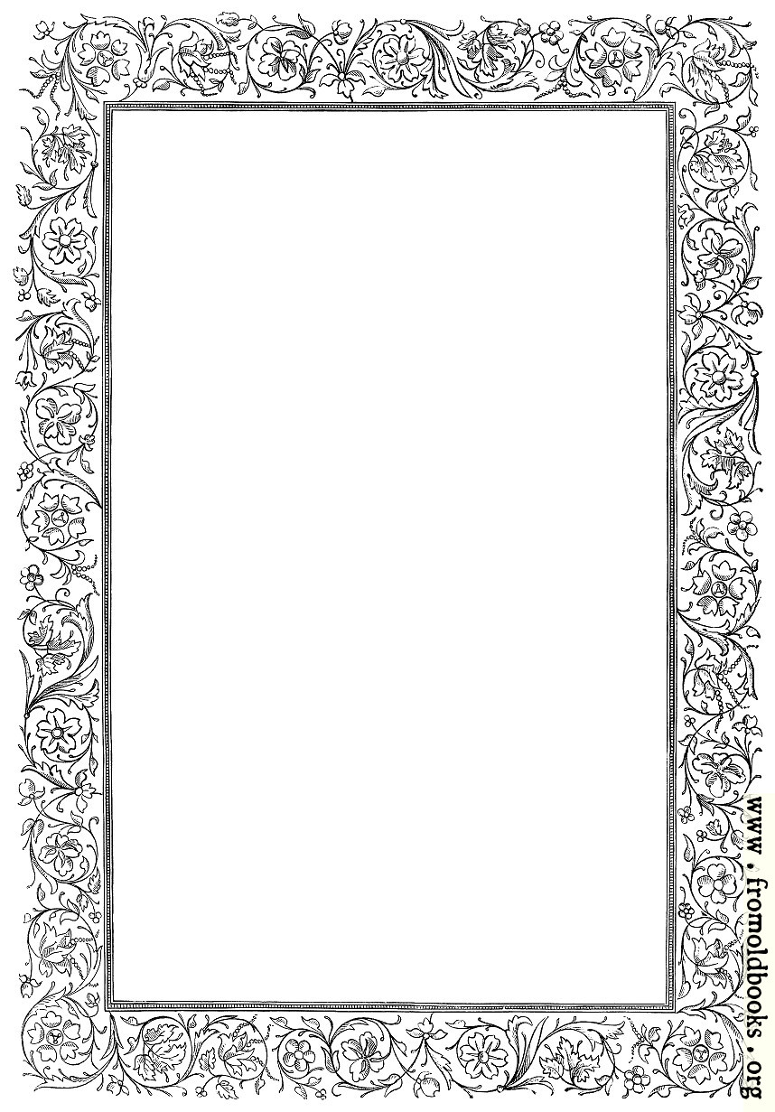 [Picture: Victorian border - floral]