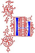 [Picture: Decorative initial letter H from fifteenth Century Nos. 4 and 5.]