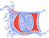 [Picture: Fourteenth Century Initial Letter U or V from Plate 65]