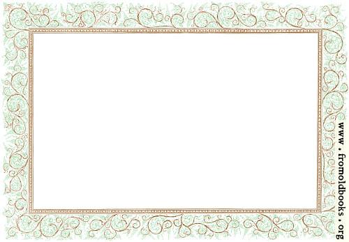 [Picture: Clip-art: Victorian Floral Border, Landscape Version]