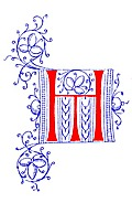 [picture: Decorative initial monogram TH from fifteenth Century Nos. 4 and 5.]