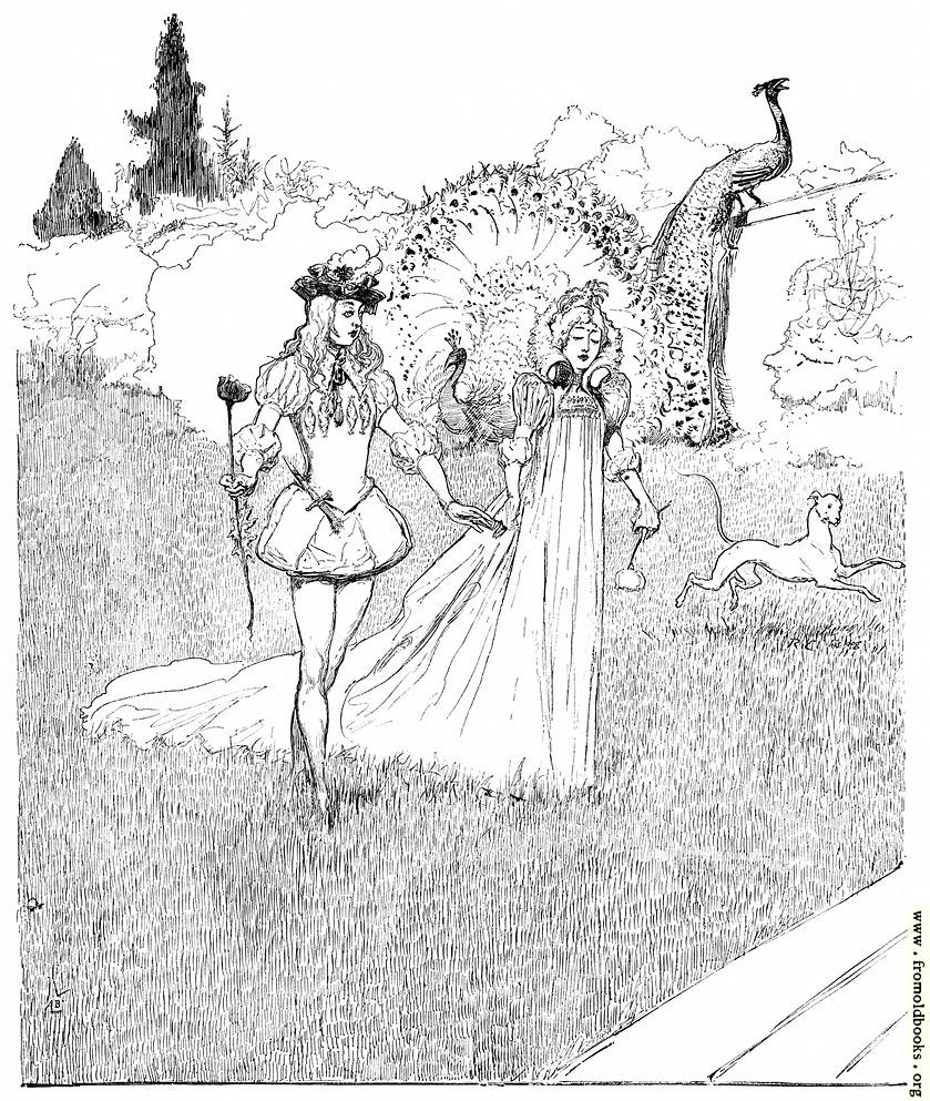 [Picture: A walk in a romantic dream]