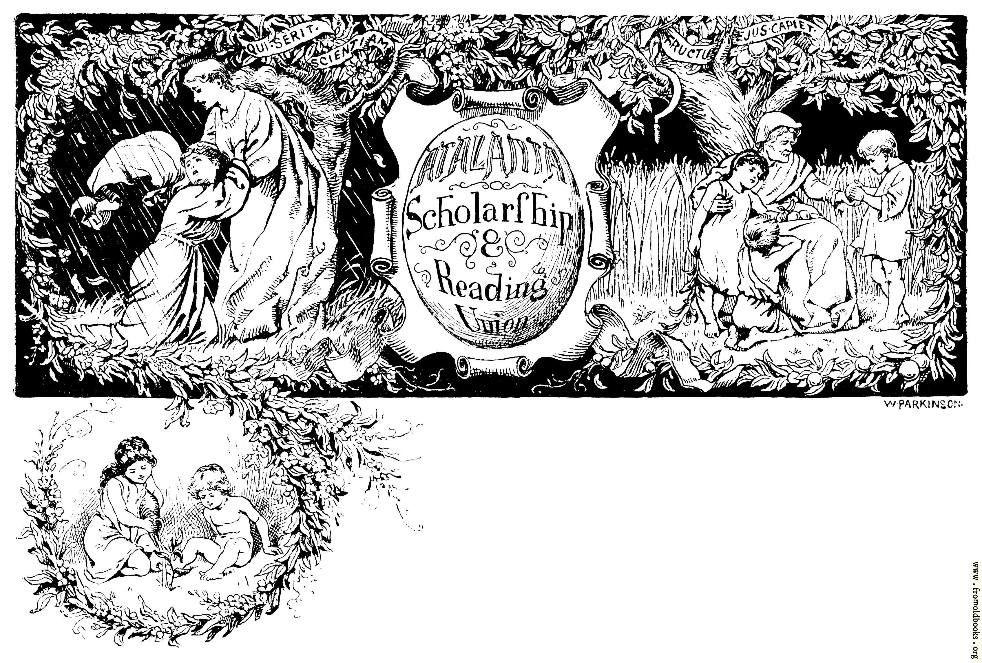 [Picture: Atalanta Scholarship and Reading Union]