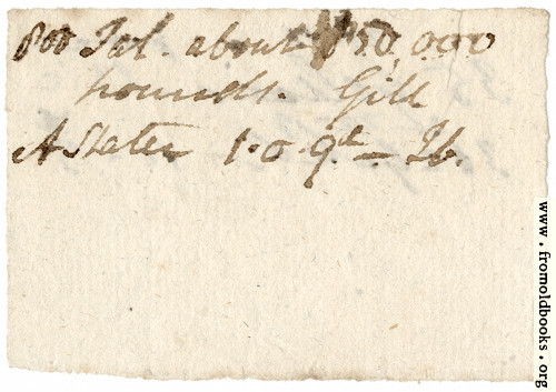 [Picture: Harwood 2: scarp of paper (other side)]