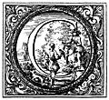[Picture: Decorated (Historiated) initial letter C by Valerio Spada]