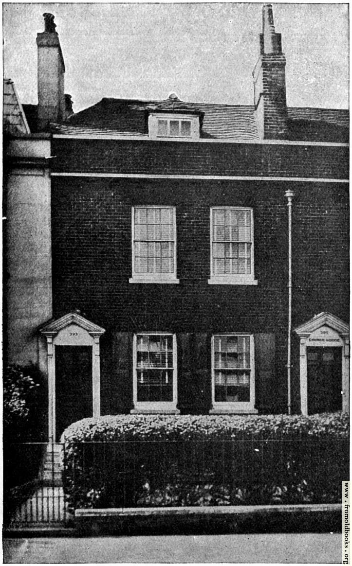 [Picture: The Birthplace of Charles Dickens]