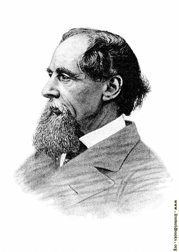 [Picture: Charles Dickens in 1868]