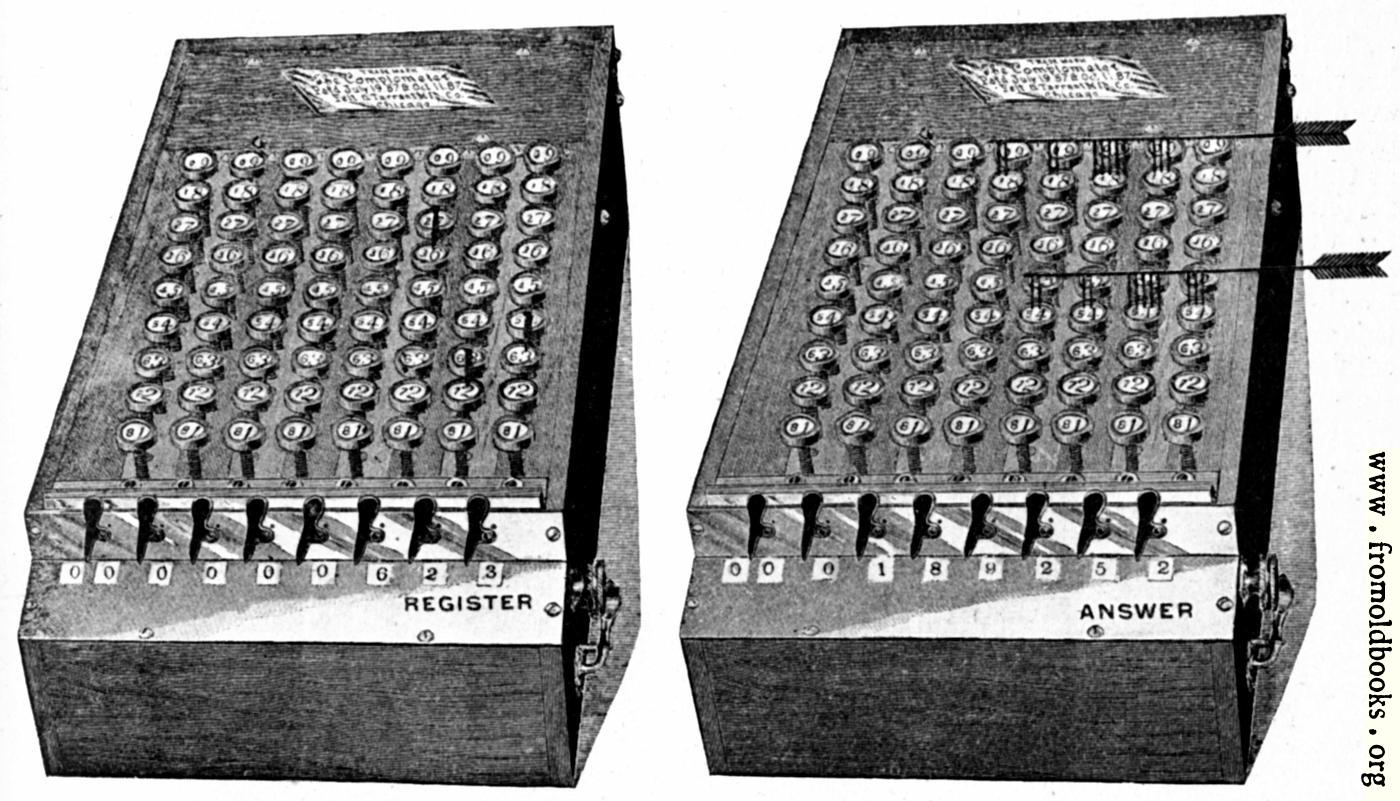 [Picture: A Calculating Machine]