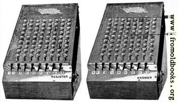 [picture: A Calculating Machine]