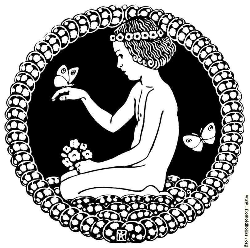 [Picture: Stock block: Child kneeling in a circular vignette]