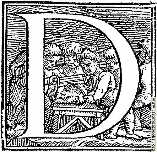 "[Picture: Initial letter ""D"" from p. 650]"