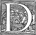 [picture: Initial letter ``D'' from p. 650]