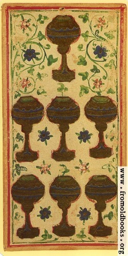 [Picture: Seven of Cups]