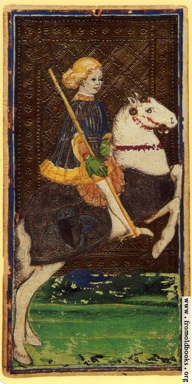 [Picture: Knight of Staves.]
