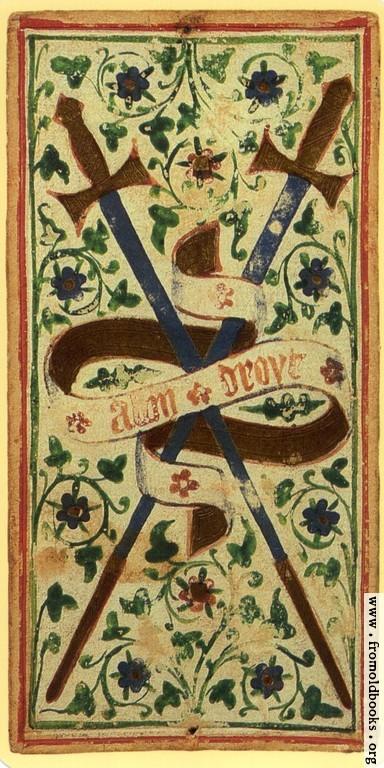 [Picture: Deuce of Swords.]